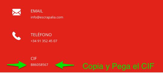 Contacto ponte en contacto con Escrapalia1