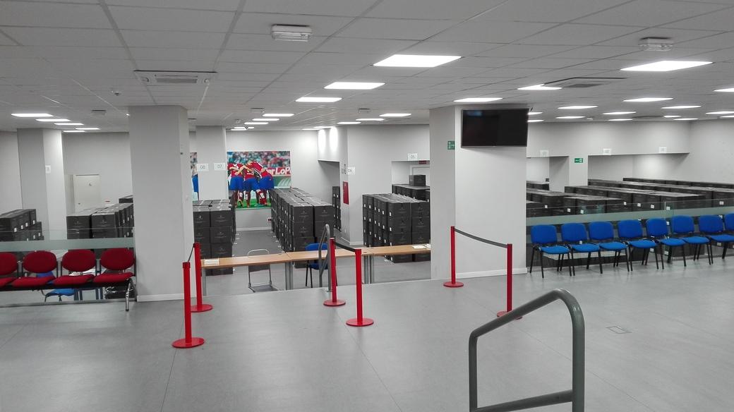 Atlético de Madrid indoor