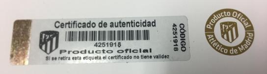 Código de identificación del asiento