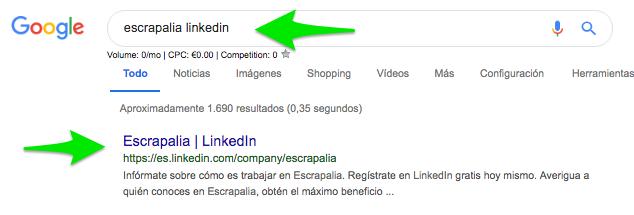 escrapalia linkedin Buscar con Google1