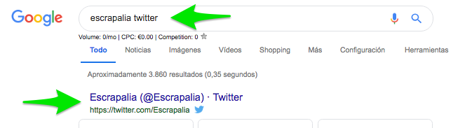 escrapalia twitter Buscar con Google1